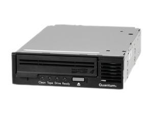 Quantum TC-L42BX-EY-B-MB Black 1.6TB Internal LVD Ultra320 SCSI Interface LTO Ultrium 4 Tape Drive W/ Qty2 MR-L4MQN-01 Tape ...
