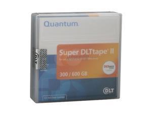 Quantum MR-S2MQN-05 300/600GB Super DLT Tape II Data Cartridge 5 Packs