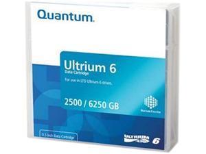 Quantum MR-L6MQN-01-20PK 2500 / 6250 GB LTO Ultrium 6 Tape Zip Media 20 Packs