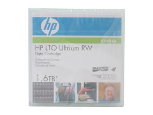 HP C7974A 800/1600GB LTO Ultrium 4 LTO4 Ultrium 1.6TB Read / Write Data Cartridge 1 Pack