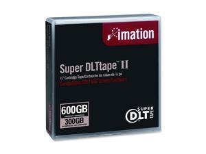 imation 16988 300/600GB Super DLTtape II Tape Media 1 Pack
