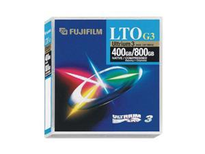 FUJIFILM 126021 400/800GB LTO Ultrium 3 Tape Media 1 Pack