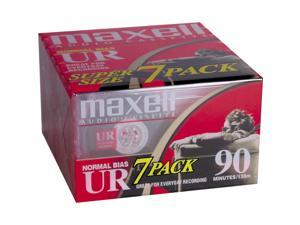 maxell 108575 UR Type I Audio Cassette 7 Packs