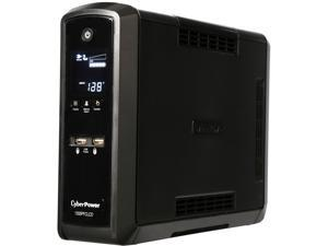 CyberPower CP1350PFCLCD 1350 VA / 810 Watts PFC Pure Sine Wave UPS w/ USB Charging Ports