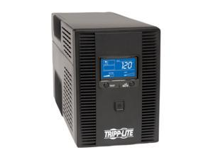 Tripp Lite SMART1500LCDT 1500VA 900W UPS Back Up Smart Tower LCD AVR 120V USB Coax RJ45