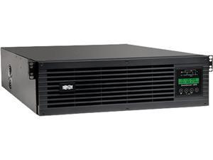 TRIPP LITE 3000VA 2700W UPS Smart Online 120V w Installed SNMPWEBCARD 3URM