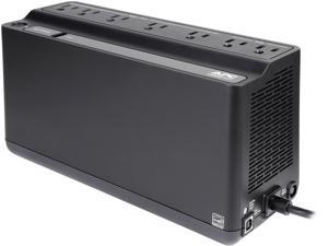 APC BE600M1 Back-UPS 600 VA 330 Watts 7 Outlets Uninterruptible Power Supply (UPS) with USB charging Port