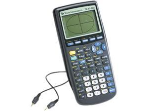 Texas Instruments TI-83PLUS TI-83PLUS Programmable Graphing Calculator, 10-Digit LCD