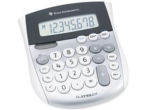 Texas Instruments TI-1795SV TI-1795SV Minidesk Calculator, 8-Digit LCD
