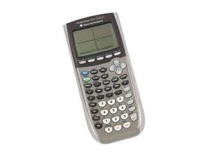 Texas Instruments TI84PLUSSE TI-84Plus Silver Programmable Graphing Calculator, 10- Digit LCD
