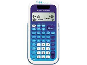 Texas Instruments TI-34MULTIV TI-34 MultiView Scientific Calculator