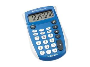 Texas Instruments TI-503SV TI-503SV Pocket Calculator, 8-Digit LCD