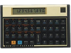 Hewlett-Packard 12C 12C Financial Calculator, 10-Digit LCD