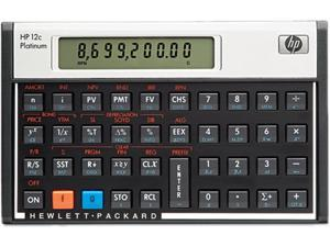 HP 12CP Platinum Financial Calculator, 10-Digit LCD