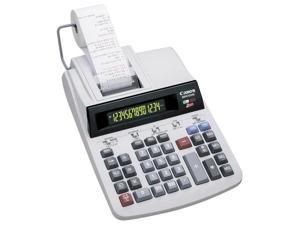 MP41DHII Two-Color Printing Calculator, 14-Digit GLOview LCD, Black/Red