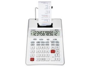 P23-DHVG 12-Digit Two-Color Printing Calculator, White