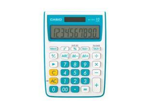 Casio 10-Digit Calculator (Blue)