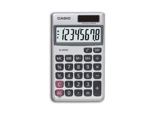 Casio SL-300SV SL-300SV Handheld Calculator, 8-Digit LCD