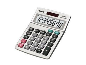 Casio Solar Desktop Calculator with 8-Digit Display