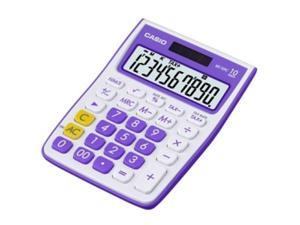Casio 10-Digit Calculator,Simple Calculator,Standard Function Calculator,Purple
