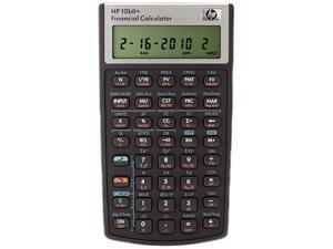 HP 10bII+ Financial Calculator, 12-Digit LCD