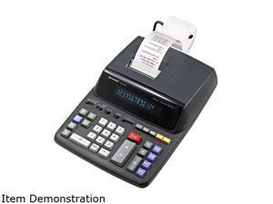Sharp EL2196BL EL2196BL Two-Color Printing Calculator, 12-Digit Fluorescent, Black/Red