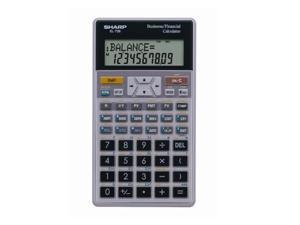 Sharp EL738C EL-738C Financial Calculator, 10-Digit LCD