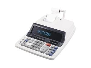 QS-1760H Two-Color Ribbon Printing Calculator, 10-Digit Fluorescent