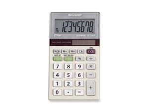 Sharp EL244TB Dual-Power Pocket Calculator