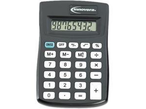 Innovera 15901 15901 Pocket Calculator, Black