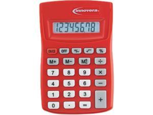 15902 Pocket Calculator, Red