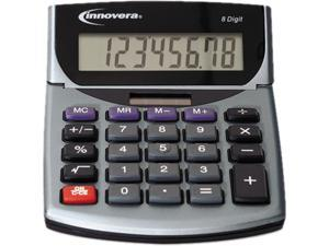 Innovera 15925 15925 Portable Minidesk Calculator, 8-Digit LCD