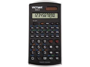 Victor 930-2 930-2 Scientific Calculator, 10-Digit LCD
