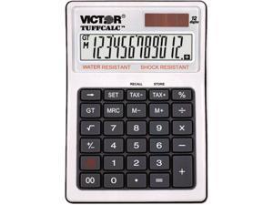 Victor 99901 TUFFCALC Desktop Calculator, 12-Digit LCD