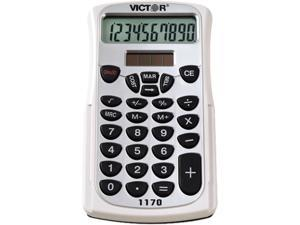 Victor 1170 1170 Handheld Business Calculator w/Slide Case, 10-Digit LCD