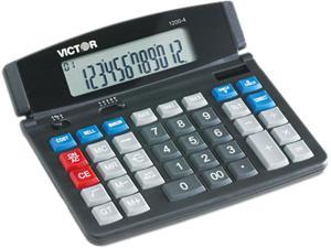 Victor 1200-4 1200-4 Business Desktop Calculator, 12-Digit LCD
