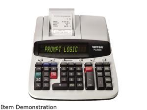 Victor PL8000 PL8000 1-Color Prompt Logic Printing Calculator, 14-Digit Dot Matrix, Black