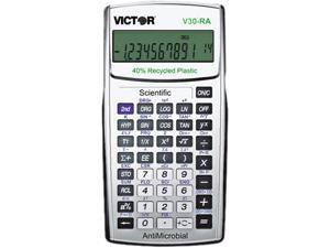 V30RA Scientific Recycled Calculator w/AntiMicrobial Protection