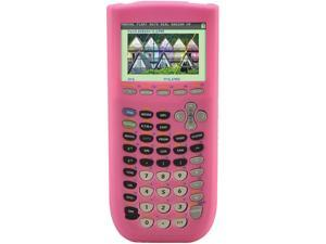 Pink Silicone Case for Texas Instruments TI 84 Plus C Silver Edition Color Graphing Calculator