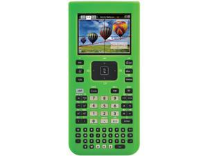 Guerrilla TINSPGREENSC Green Silicone Case for Texas Instruments TI Nspire CX & CX CAS Graphing Calculator