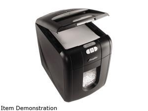 Swingline Stack-and-Shred 100X Stack-and-Shred 100X Micro-Cut Shredder, 100 Sheet Capacity Automatic Feed