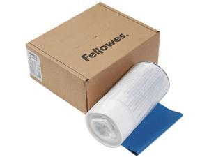 Fellowes 36053 Powershred Shredder Bags f/Models SB-95C, DM17C, Clear, 100 Bags & Ties/Carton