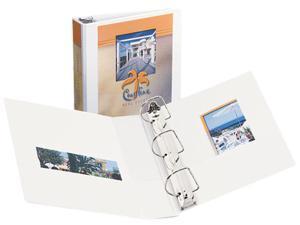 "Avery 17032 Durable Vinyl Slant D Ring View Binder, 11 x 8-1/2, 2"" Capacity, White"