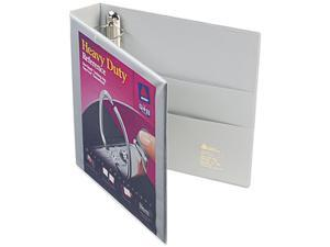 "Avery 79405 Nonstick Heavy-Duty EZD Reference View Binder, 1-1/2"" Capacity, Gray"