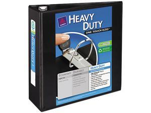"Avery                                    Nonstick Heavy-Duty EZD Reference View Binder, 4"" Capacity, Black"