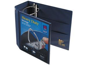 "Avery 79806 Nonstick Heavy-Duty EZD Reference View Binder, 5"" Capacity, Navy Blue"