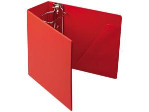 "Cardinal 11952 Heavyweight Vinyl Slant-D Ring Binder With Finger Hole, 5"" Capacity, Red"