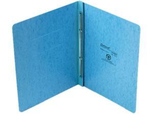 "Oxford 12701 PressGuard Report Cover, Prong Clip, Letter, 3"" Capacity, Light Blue"