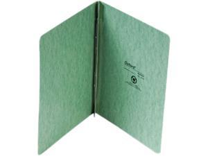 "Oxford 12703 PressGuard Report Cover, Prong Clip, Letter, 3"" Capacity, Light Green"