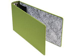 "Oxford S2557-2 Green Canvas Legal 3-Ring Binder, 8-1/2 x 14, 2"" Capacity"